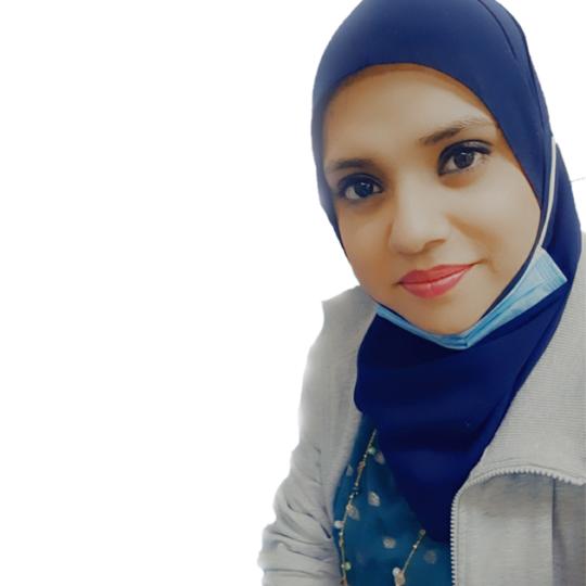 Afreen ABC staff